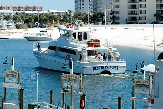 Xplorie csr destinprincess for Party boat fishing destin fl