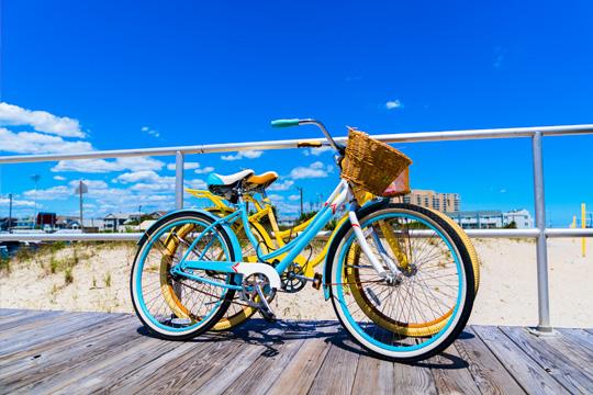 One day bike rental from Beach Blast Rentals