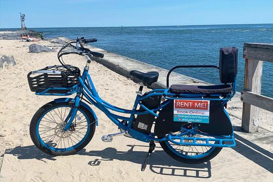 Pedego Bikes Ocean City: Multi Person Electric Bike Rental
